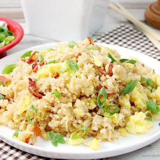 Bacon & Egg Breakfast Fried Rice