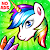 Unicorn Coloring Book - Games for Girls (No Ads)🎨 file APK for Gaming PC/PS3/PS4 Smart TV