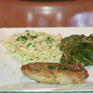 Parmesan-Crusted Pork Chops.