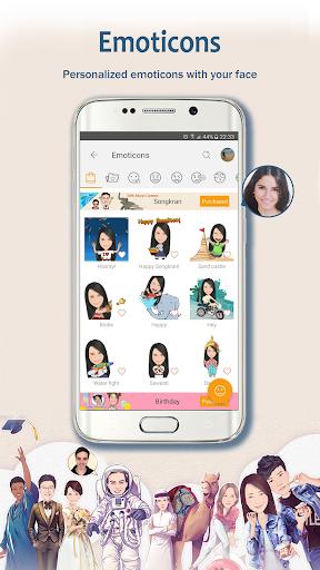 MomentCam Cartoons & Stickers screenshot 2