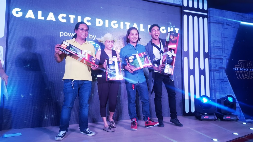 GLOBE BLOGGER FRIENDS AND INFLUENCERS WON STAR WARS COLLECTIBLES DURING THE GALACTIC DIGITAL NIGHT EVENT