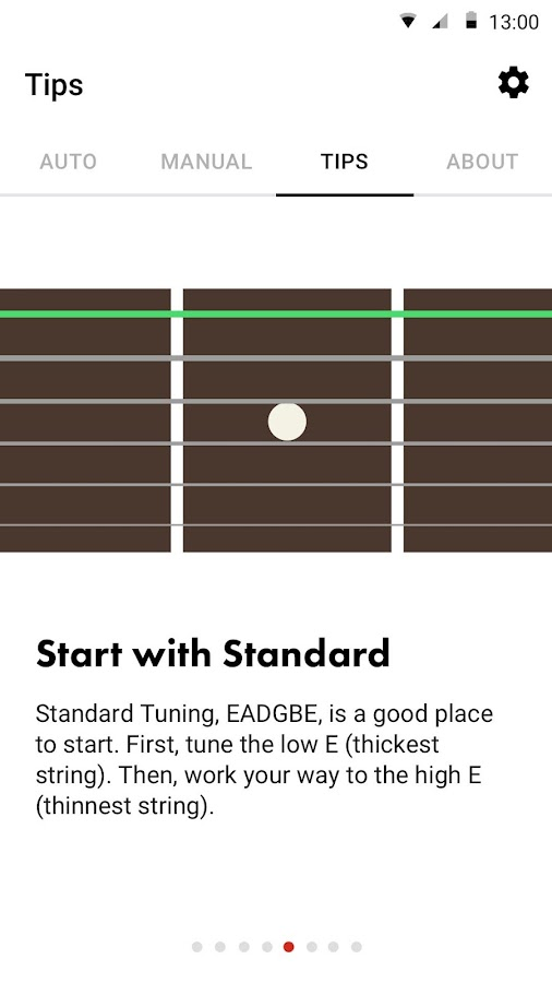 Guitar Tuner Free- Fender Tune- screenshot