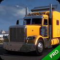 Cargo Dump Truck Driver Simulator PRO Europe 2019 icon