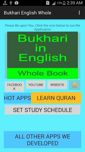 Bukhari in English full Book