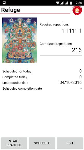Meditation Tracker screenshot 2