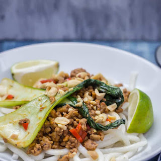 Udon Noodle Stir Fry with Turkey Mince Recipe