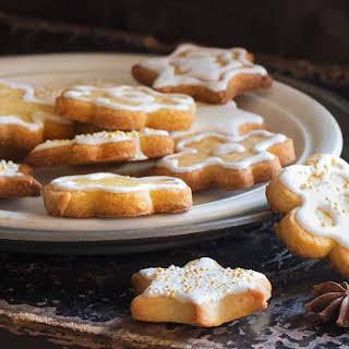 Champagne Glazed Sugar Cookies.