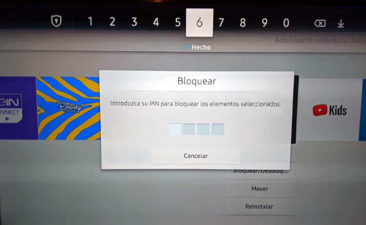 bloquear aplicaciones en una smart tv