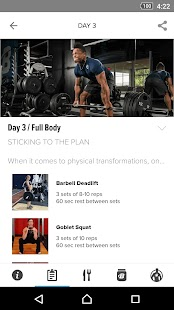 Transformed by Dymatize- screenshot thumbnail