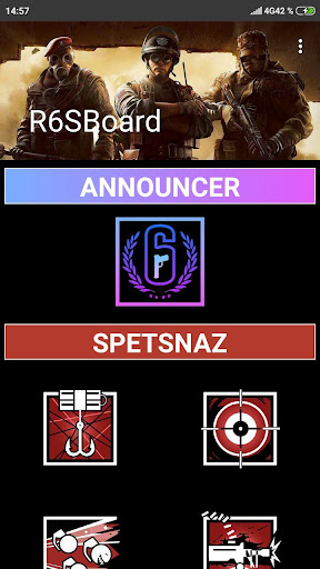 Screenshot for Rainbow Six Elite SoundBoard in United States Play Store