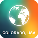 Colorado, USA Offline Map icon