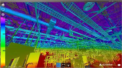 Photo: Factory scan in Autodesk ReCap