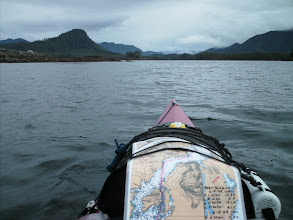 Photo: Heading into Lady Trutch Passage with Lake Island on the left.