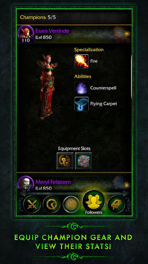WoW Legion Companion- screenshot