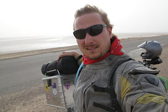 Photo: In the middle of the passage through the Chott El Jerid