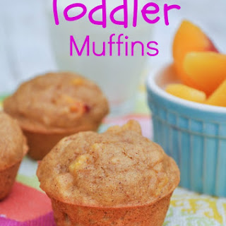 Whole Grain Honey Peach Mini Muffins