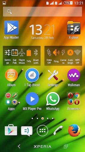 Theme Xperien Spectra screenshot 6
