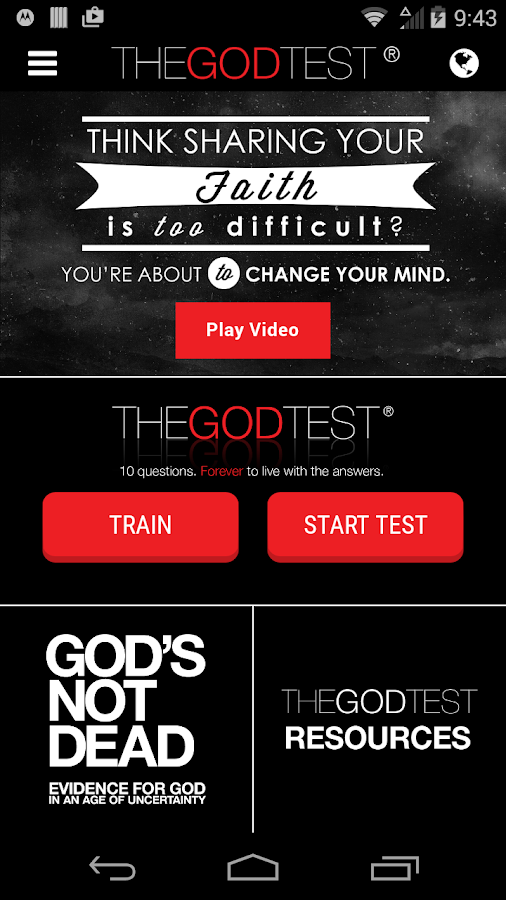 The God Test- screenshot