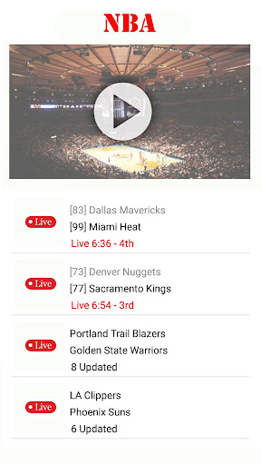 Watch NBA Basketball : Live Streaming for Free Apk 1