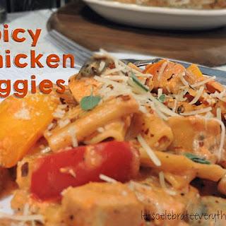 Spicy Chicken Riggies