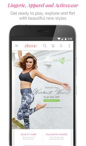 Zivame - Shop Lingerie, Activewear, Apparel Online 3.1.1 screenshots 1