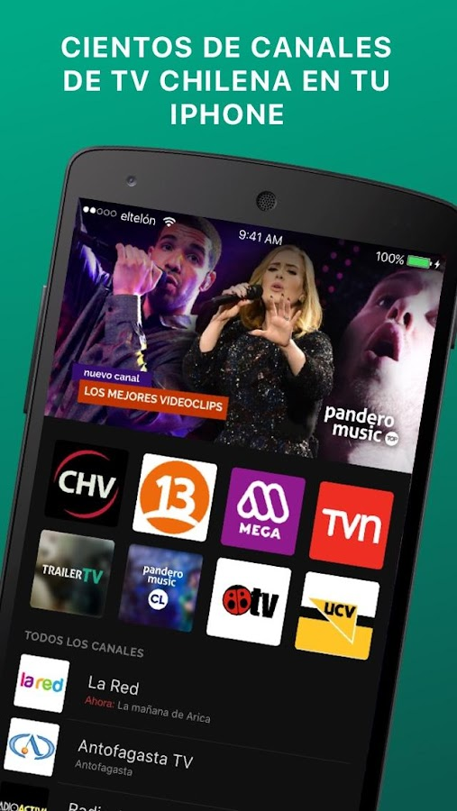 El Telón Radios y TV Chile- screenshot