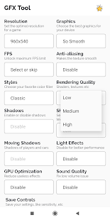 PUBG用GFX Tool Pro