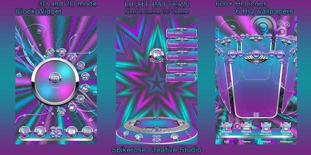 Download Light Pattern 3D Next Launcher theme Apk 1 0,com