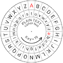 Caesar Cipher Disk icon