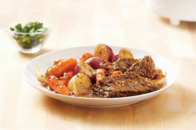 Slow-Cooker New England Pot Roast Recipe