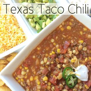 Texas Taco Chili