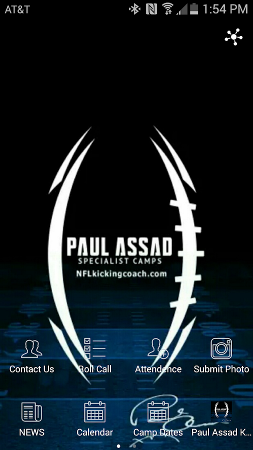 Paul Assad Specialist Camps- screenshot