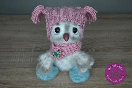 Cute Owl by LittleOwlsHut