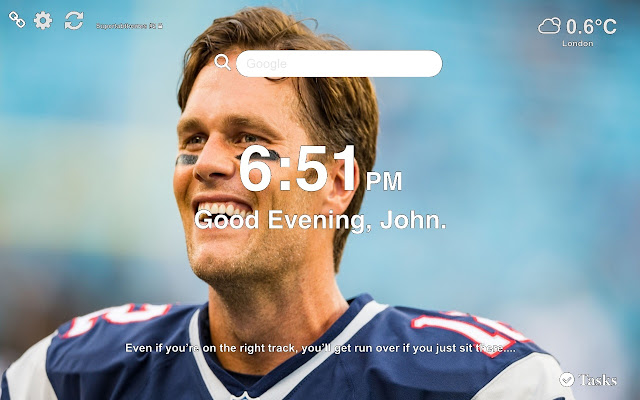 Tom Brady NFL Wallpapers and New Tab