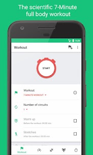 7-Minute Workouts -Daily Fitness with No Equipment 1.3.11 MOD + APK + DATA Download 1