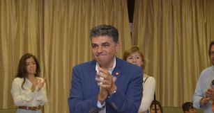 Miguel Cazorla, tras conocerse los resultados de las elecciones municipales.