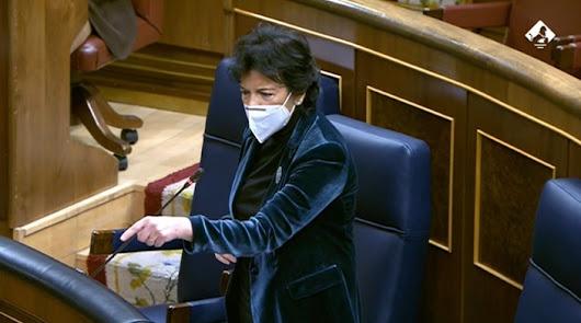 El PP pide la dimisión de Celaá pese a que ha pedido disculpas a Matarí