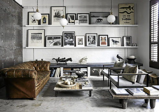 Steal Genius Ideas For Displaying Art Collectables From This Cape Town Loft