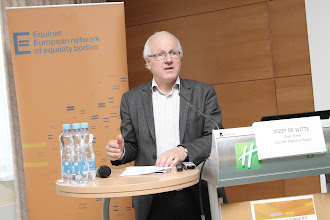 Photo: Jozef De Witte, Chair of the Equinet Executive Board