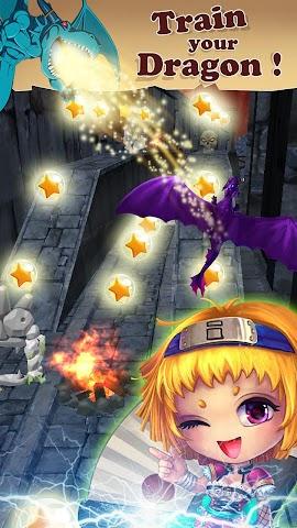 android Dragon Rise: Run 3D Game Screenshot 2