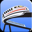 Monorail Logic Puzzles Free icon