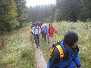 Photo: 18 Serenas & Serenos & Freunde marschieren los in Richtung Reißthalerhütte