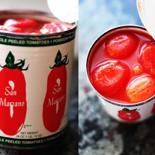San Marzano Tomato Sauce.