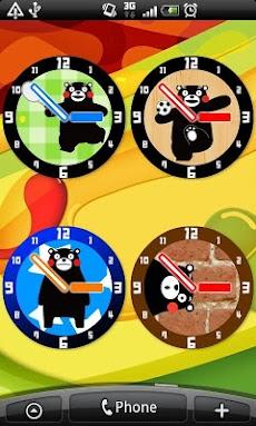 くまモンのアナログ時計のおすすめ画像2