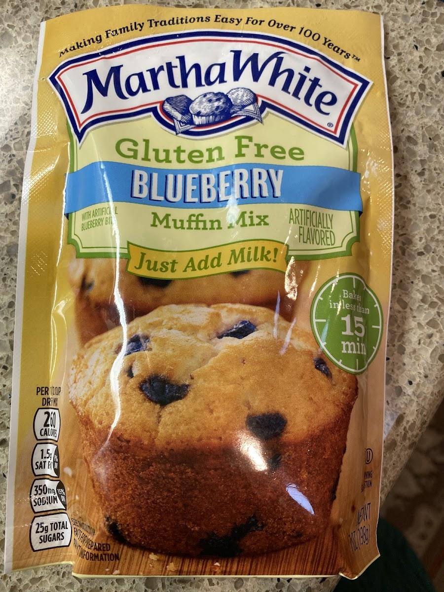 Blueberry Muffin Mix Gluten Free