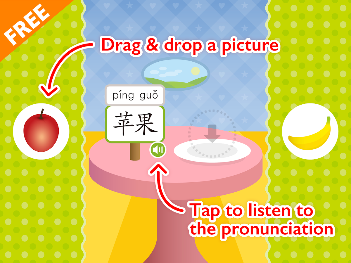 Chinese for Kids - Fruits- screenshot