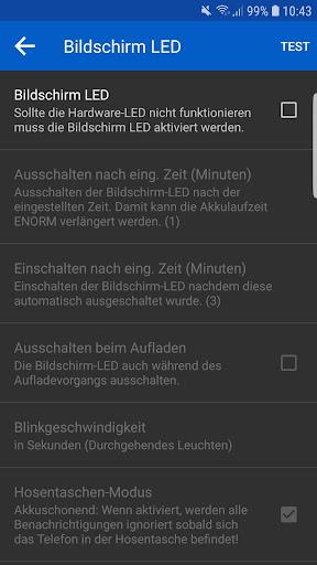 LED Blinker Benachrichtigungen - Steuer dein Licht screenshot 8