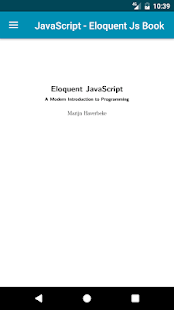 Eloquent javascript ebook - náhled