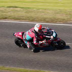 High speed by Marc Lawrence - Sports & Fitness Motorsports ( northern ireland, motorbike, racer, road racing, nw200 )