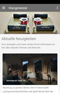 Klangmeister - náhled